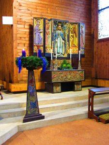 Fotos des Patrozinums 70 Jahre Augartenkirche